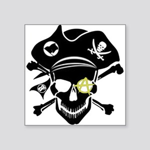 Black Captain Sticker