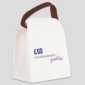 Goddess Canvas Lunch Bag