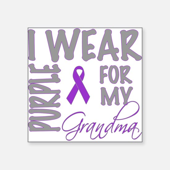 "WearForMom.png Square Sticker 3"" x 3"""