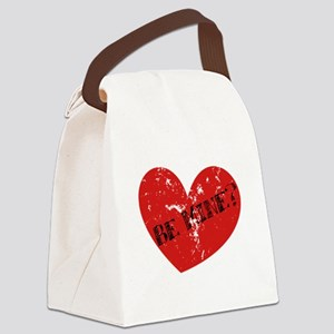 BeMine2 Canvas Lunch Bag