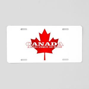 Canada (Sea to Sea) Aluminum License Plate