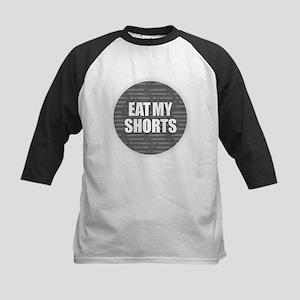 Eat My Shorts - Gray Baseball Jersey
