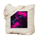 Flower Fairy Abstract Tote Bag