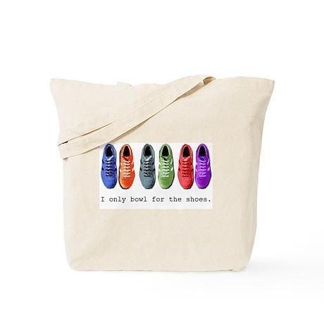 Bowling Shoes Tote Bag