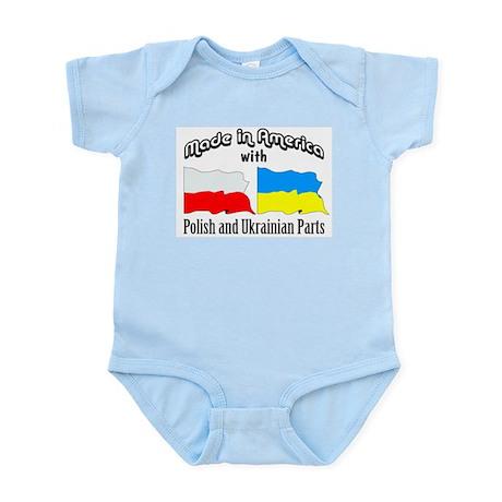 Polish & Ukrainian Parts Infant Bodysuit