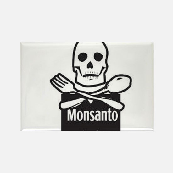 Monsanto Rectangle Magnet
