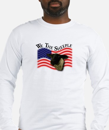 We the Sheeple Long Sleeve T-Shirt