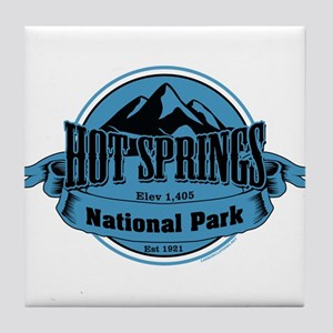 hot springs 4 Tile Coaster
