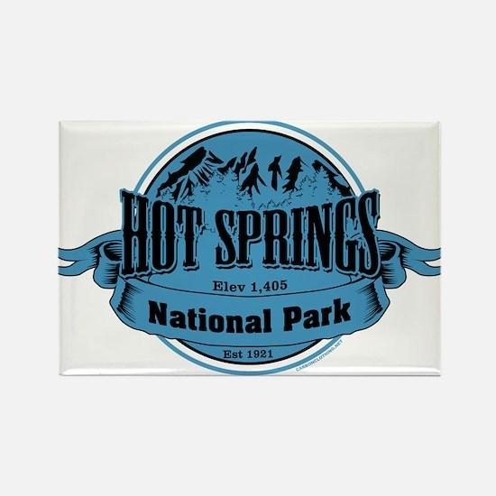 hot springs 2 Rectangle Magnet