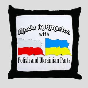 Polish-Ukrainian Throw Pillow