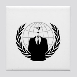 Anonymous Tile Coaster