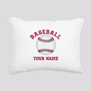 Personalized Name Baseball Rectangular Canvas Pill