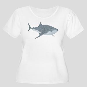 1248 white Plus Size T-Shirt