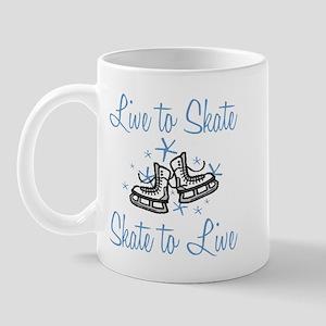 Live to Skate... Mug