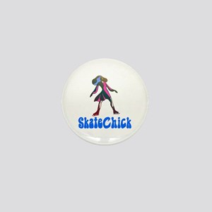 Groovy SkateChick Mini Button
