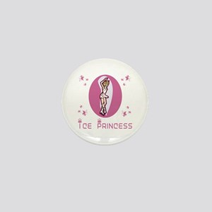 SkateChick Ice Princess Mini Button