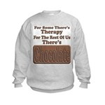 Chocolate Therapy Kids Sweatshirt