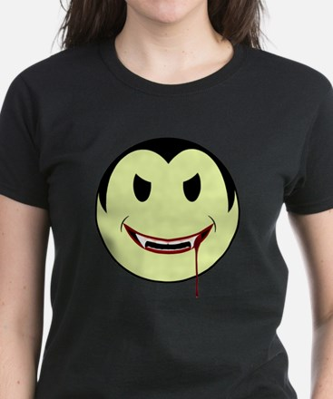 Smiley Vampire Women's Dark T-Shirt