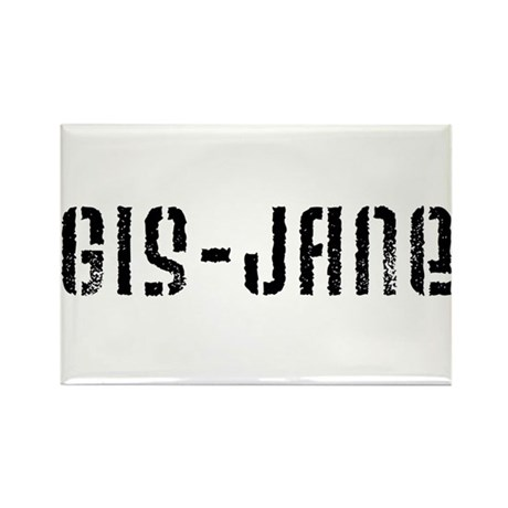 GIS-Jane Rectangle Magnet