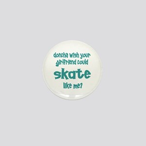 SkateChick Doncha Mini Button