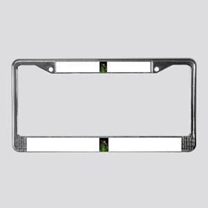 Prickly Pear Cactus License Plate Frame