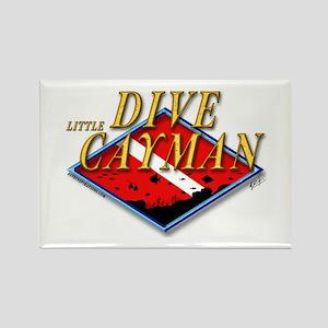 Dive Little Cayman Rectangle Magnet