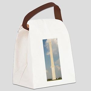 washington monument Canvas Lunch Bag