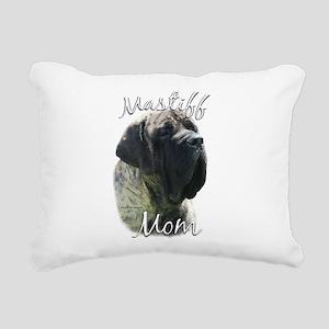 MastiffbrindleMom Rectangular Canvas Pillow