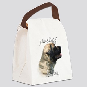 MastifffluffyMom Canvas Lunch Bag