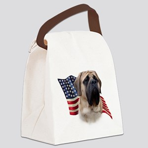 MastiffFlag Canvas Lunch Bag