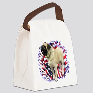 MastifffawnPatriot Canvas Lunch Bag