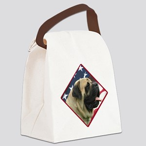 MastiffFlag2 Canvas Lunch Bag