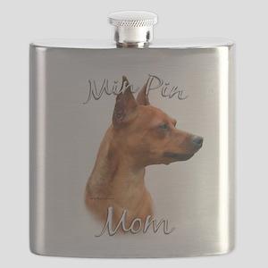 MiniPinrustMom Flask