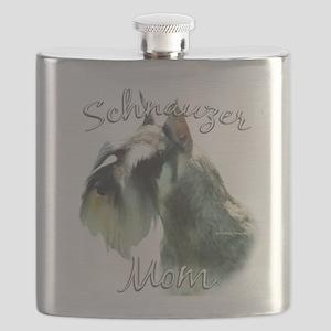 MiniSchnauzerMom Flask