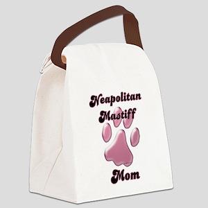 NeoMomblkpnk Canvas Lunch Bag
