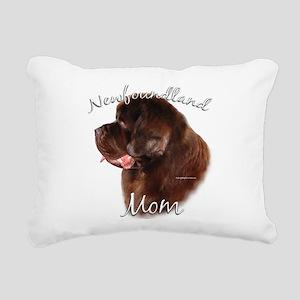 NewfbrownMom Rectangular Canvas Pillow