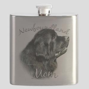 NewfblackMom Flask