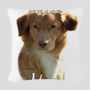 NovaMom Woven Throw Pillow