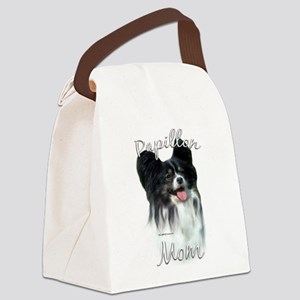 PapillonMom.png Canvas Lunch Bag