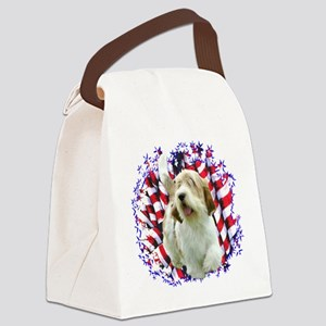 PetitPatriot Canvas Lunch Bag