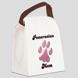 PomeranianMomblkpnk Canvas Lunch Bag