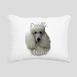 PoodlewhiteMom Rectangular Canvas Pillow