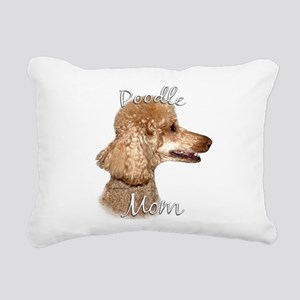 PoodleapricotMom Rectangular Canvas Pillow