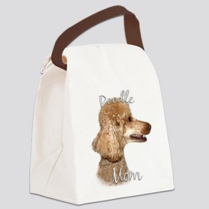 PoodleapricotMom Canvas Lunch Bag