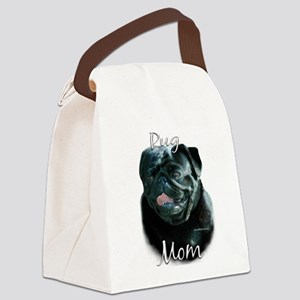 PugblackMom Canvas Lunch Bag