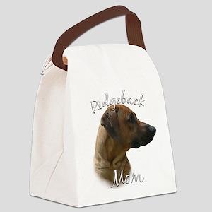 RhodesianMom Canvas Lunch Bag