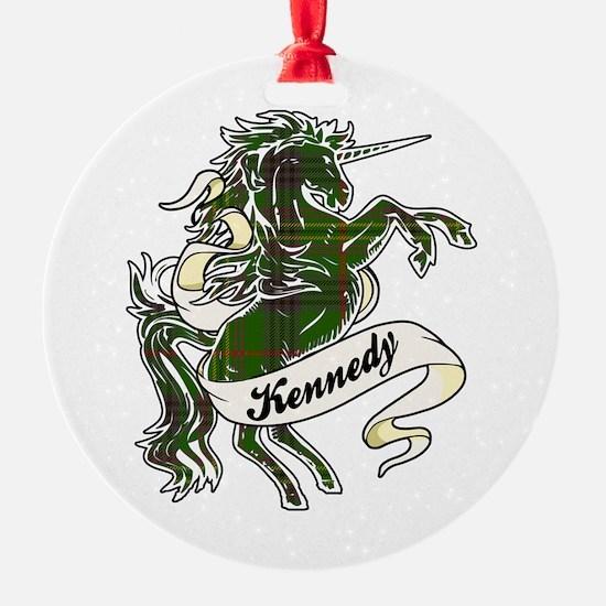 Kennedy Unicorn Ornament