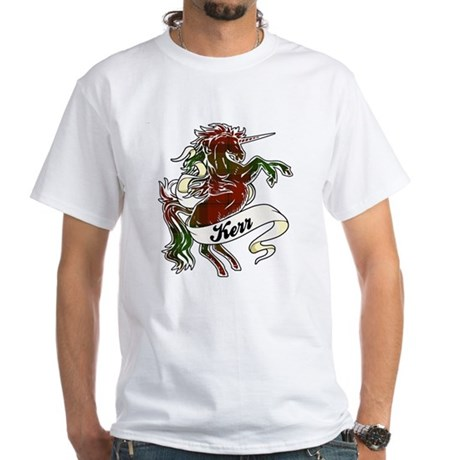 Kerr Unicorn White T-Shirt