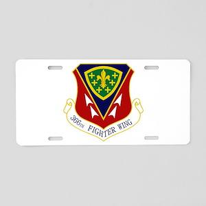 366th FW Aluminum License Plate
