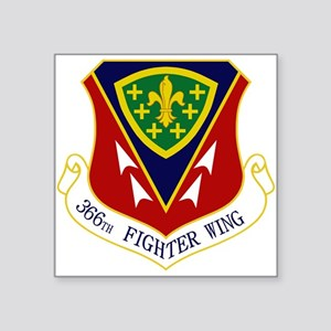 "366th FW Square Sticker 3"" x 3"""